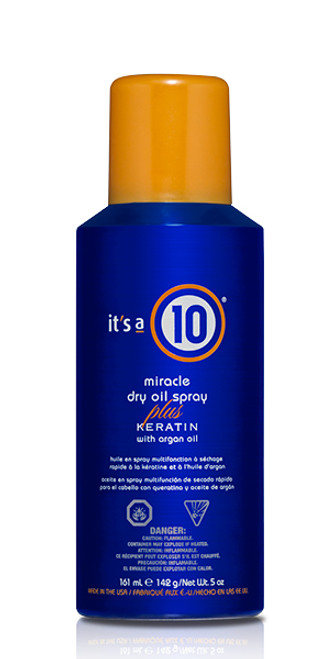 It's A 10 Miracle Dry Oil Spray Plus Keratin
