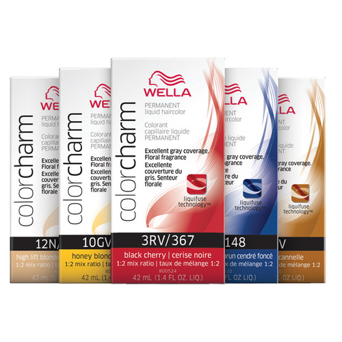 Wella Color Charm Permanent Liquid Haircolor