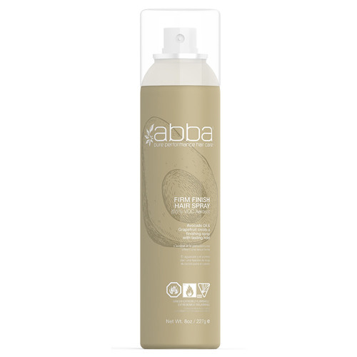 ABBA Firm Finish Aerosol Hairspray