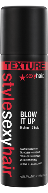 Big Sexy Hair Style Sexy Hair Blow It Up Volumizing Gel Foam