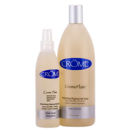 Crome CromePlate Voulumizing Shaping Hairspray