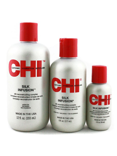 CHI Silk Infusion Leave-in alcohol free reconstructing treatment