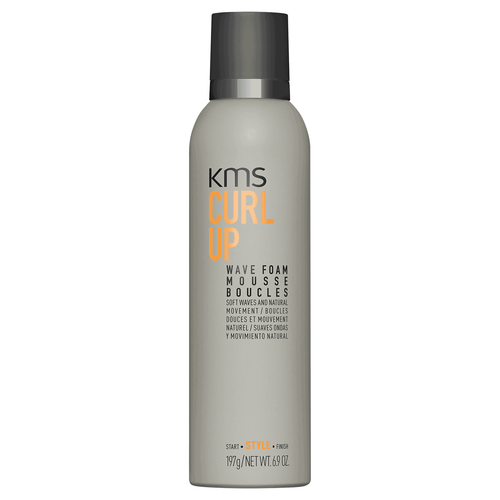KMS Curl Up Wave Foam
