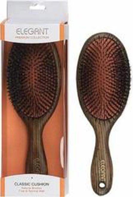 Elegant Ash Wood Boar Bristle Brush