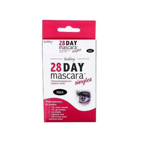 Godefroy 28 Day Black Mascara Single Application
