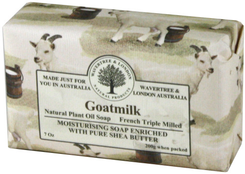 Wavertree & London Goat Milk French Milled Australian Natural Soap