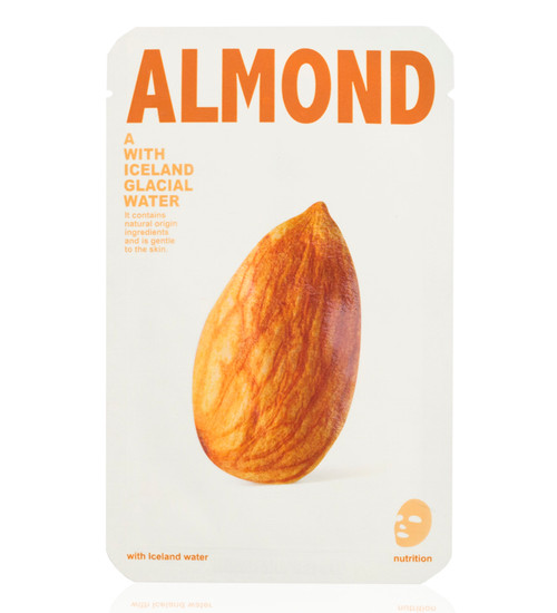 Mishe Almond with Iceland Glacial Water Nutrition Face Mask