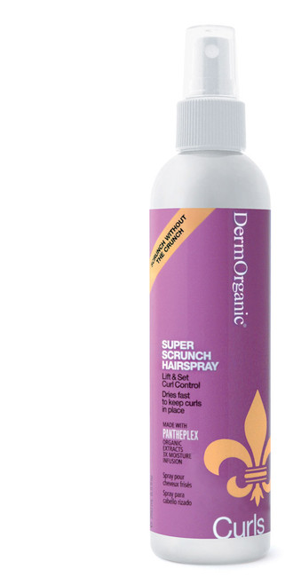 DermOrganic Curls Care Super Scrunch Hair Spray