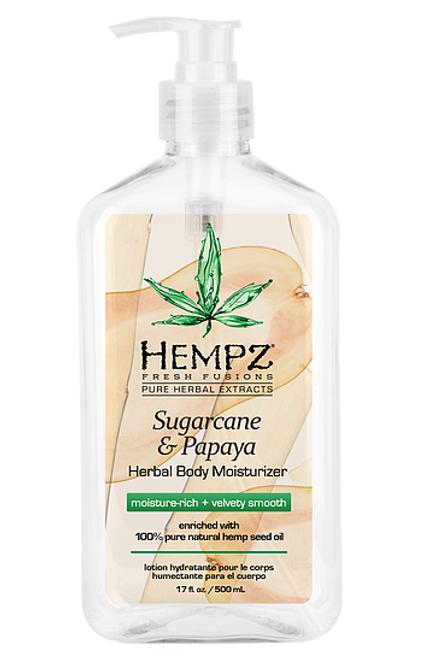 Hempz Fresh Fusions Sugarcane and Papaya Herbal Body Moisturizer