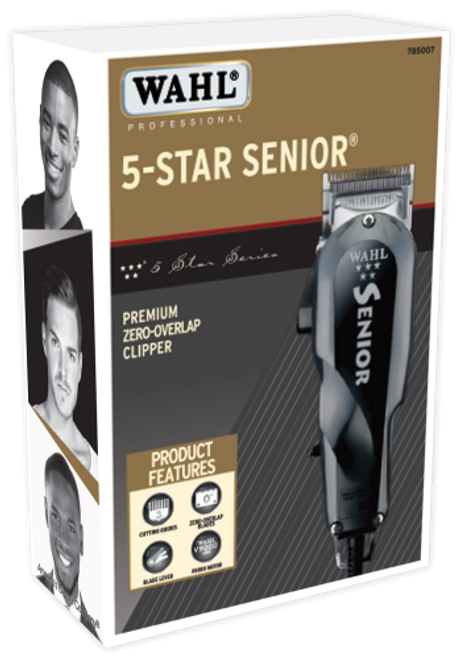 WAHL 5 Star Senior Clipper in box