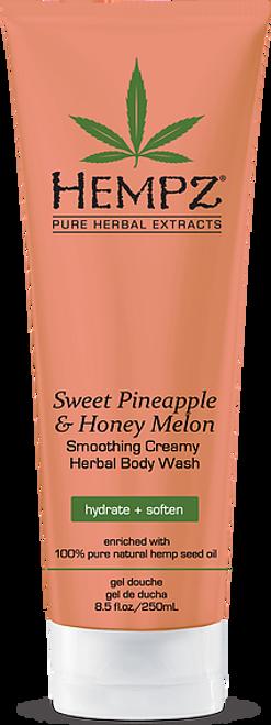 Hempz Sweet Pineapple & Honey Melon Smoothing Creamy Herbal Body Wash