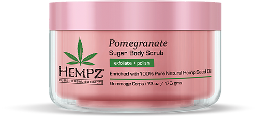 Hempz Pomegranate Herbal Sugar Body Scrub