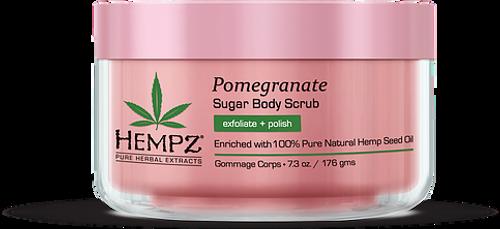 Hempz Pomegranate Herbal Sugar Body Scrub