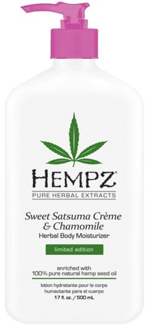 Hempz Sweet Satsuma Creme & Chamomile Herbal Body Moisturizer