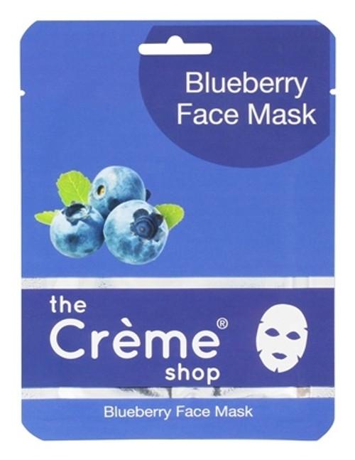 The Crème Shop Blueberry Face Mask - Facial Sheet Mask