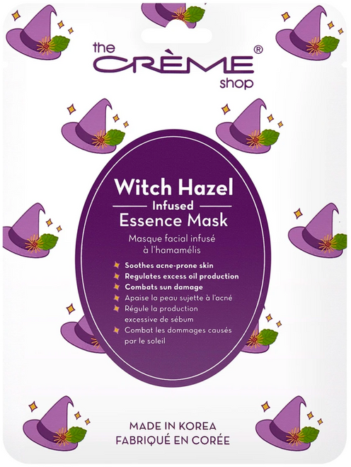 The Crème Shop Witch Hazel Infused Facial Sheet Mask