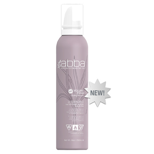 ABBA Volume Foam Styling Mousse
