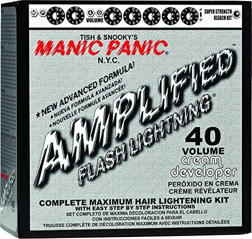 Manic Panic Flash Lightning Bleach Kit 40 Volume