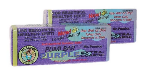 Mr Pumice Purple Pumi Bar