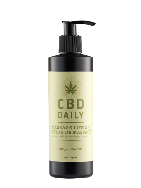 Earthy Body CBD Daily Massage Lotion