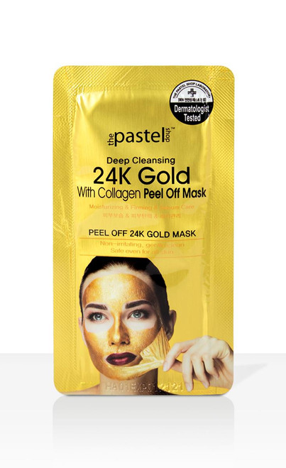 The Pastel Shop 24K Gold With Collagen Peel off Mask