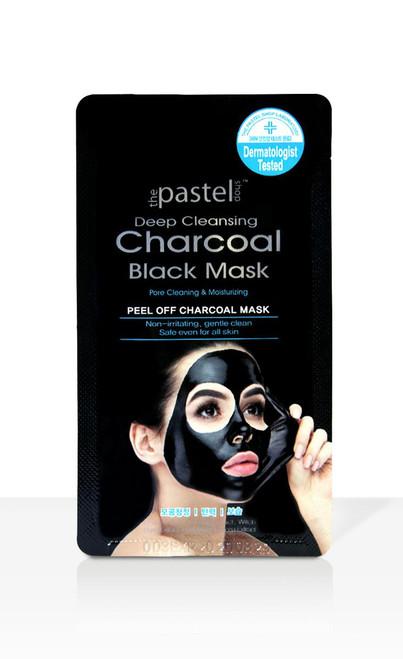 The Pastel Shop Peel Off Charcoal Black Mask