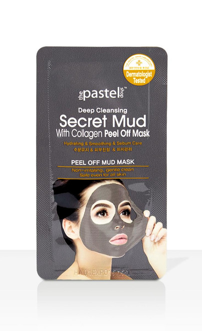 The Pastel Shop Secret Mud With Collagen Peel Off Mask