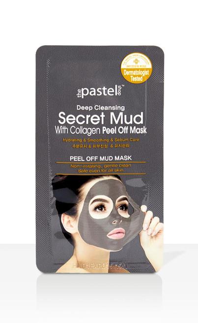 The Pastel Shop Secret Mud With Collagen Peel Off Mask