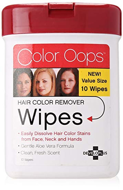 Satin Developlus Color OOPS Hair Color Remover Wipes