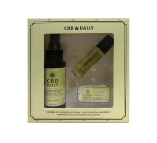 Earthy Body CBD Daily Gift Set