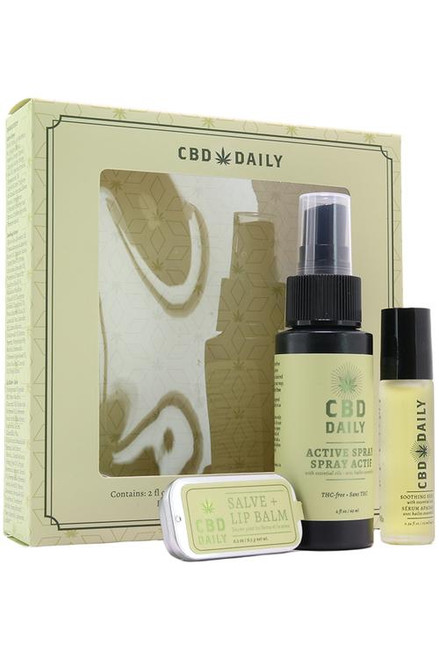 Earthy Body CBD Daily Gift Set out of box