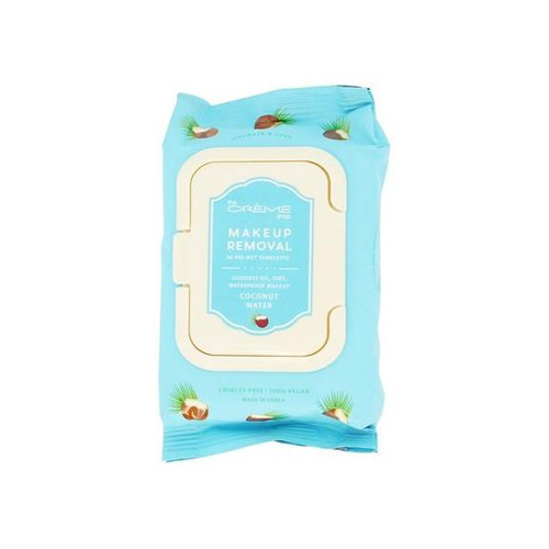 The Crème Shop Coconut Water Makeup Removing Wipes