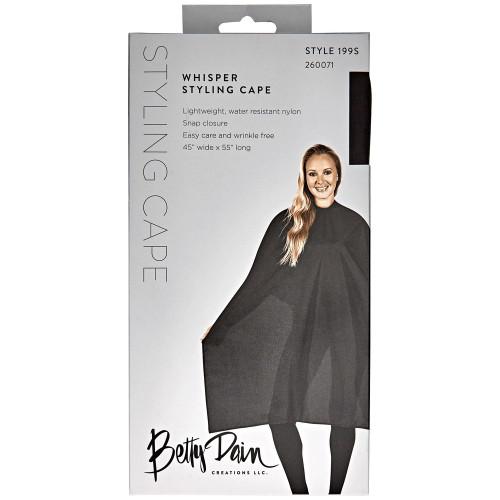Betty Dain Whisper Styling Cape