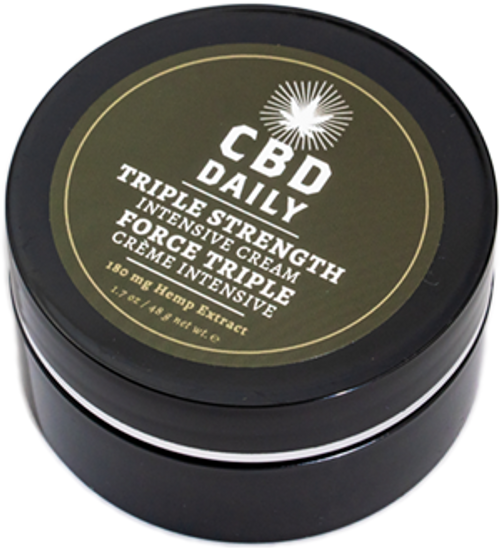 Earthly Body CBD Daily CBD Intensive Cream Triple Strength
