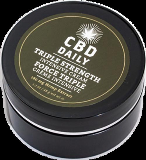 Earthly Body CBD Daily CBD Intensive Cream Triple Strength