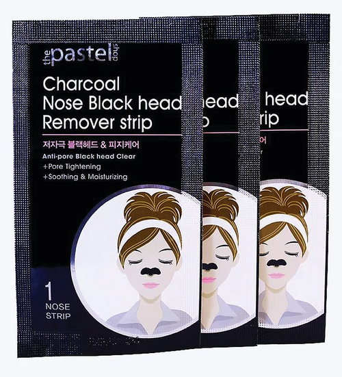 The Pastel Shop Charcoal Nose Blackhead Remover Strip