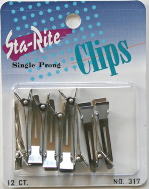 Sta-Rite Single Prong Clips 12 pack