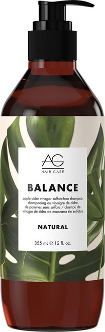 AG Natural Balance Apple Cider Vinegar Sulfate Free Shampoo