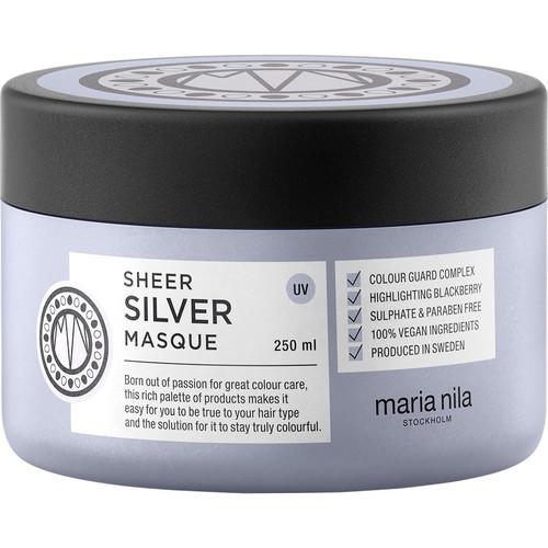 Maria Nila Sheer Silver Masque