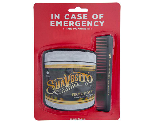 Suavecito In Case of Emergency Firme Pomade Travel Kit