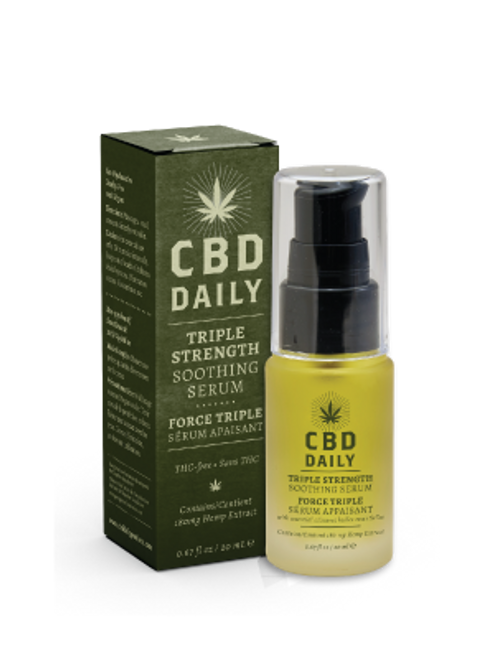 Earthly Body CBD Daily Triple Strength Soothing Serum
