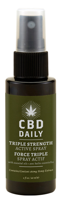 Earthly Body CBD Daily Triple Strength Active Spray
