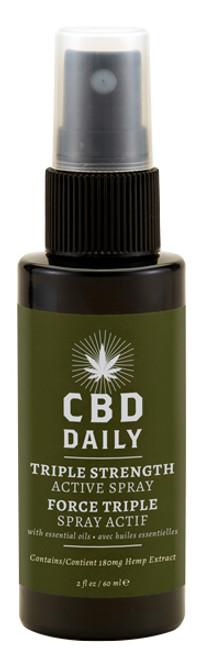 Earthly Body CBD Daily Triple Strength Active Spray