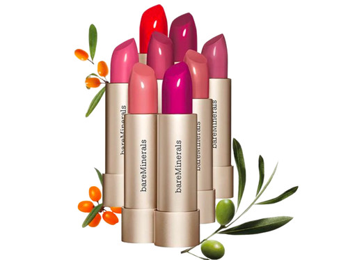 bareMinerals Mineralist Hydra Smoothing Lipstick Vegan Moisturizing lipsticks