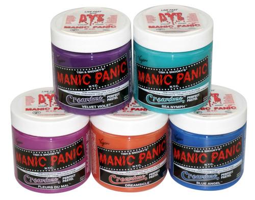 Manic Panic Creamtones Pastel Cream Hair Color