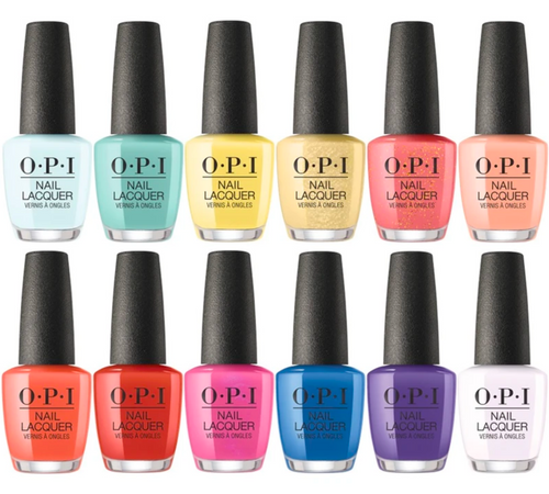 OPI Mexico City Nail Lacquer Collection Spring 2020