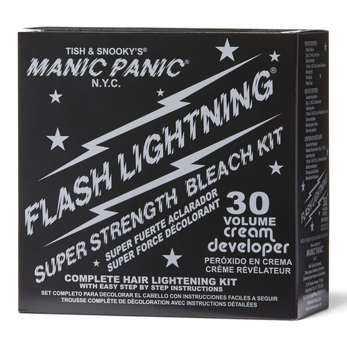 Manic Panic Flash Lightning Bleach Kit 30 Volume