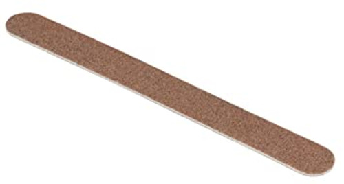 Brandon Femme Gold Wood Nail File 180 Medium Grit