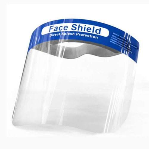 Protective PVC Splash Protection Face Shield