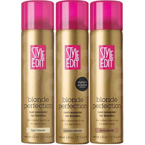 Style Edit Blonde Perfection Root Concealer Spray